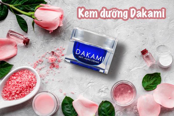 Giá bán của kem dưỡng Dakami và địa chỉ mua chính hãng