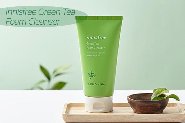 Sữa rửa mặt Innisfree Green Tea