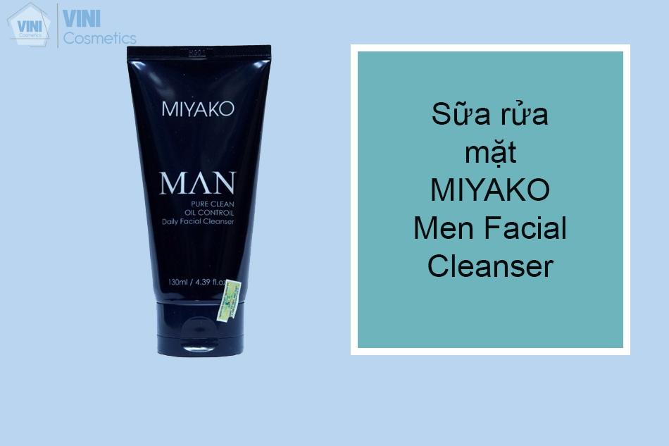 Sữa rửa mặt MIYAKO Men Facial Cleanser