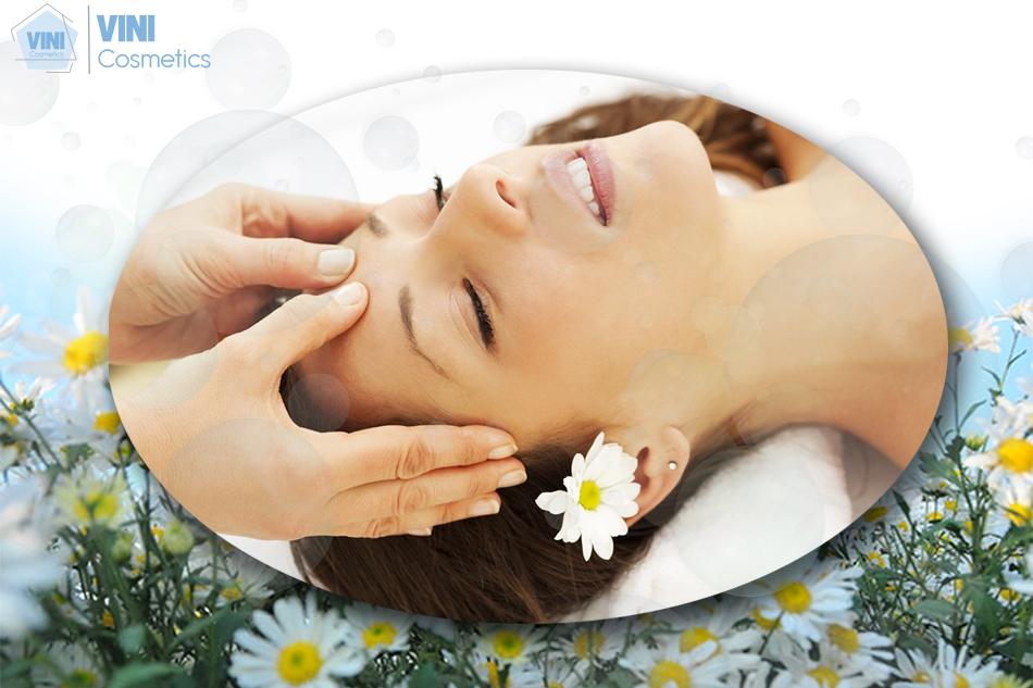 Massage mặt giúp làn da chắc khoẻ
