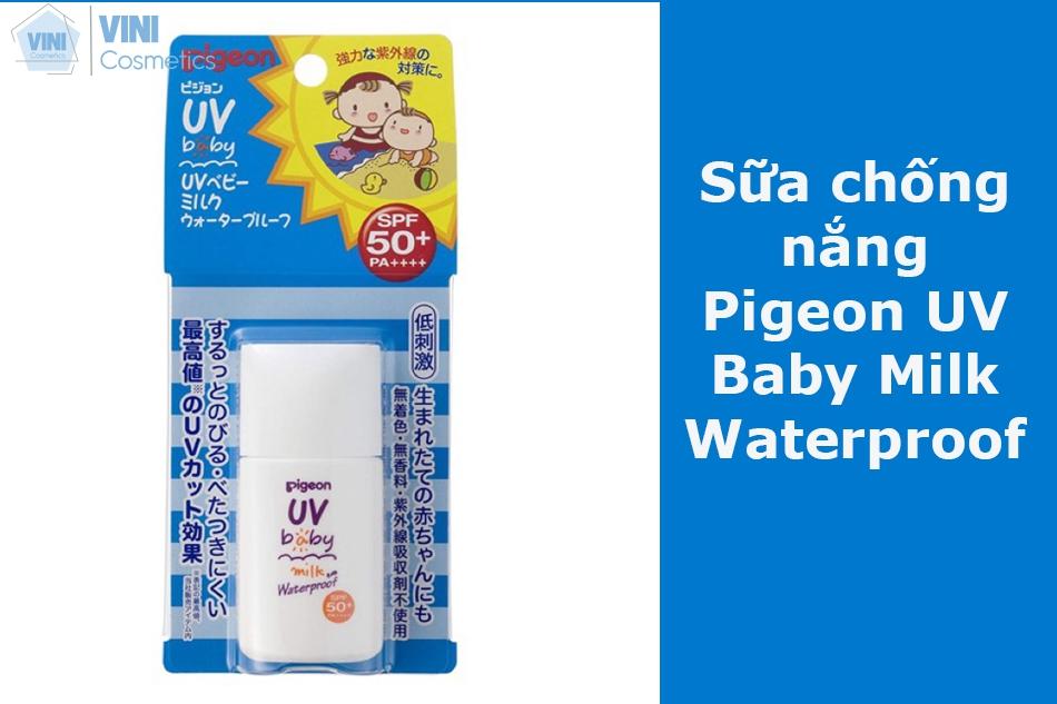 Sữa chống nắng Pigeon UV Baby Milk Waterproof