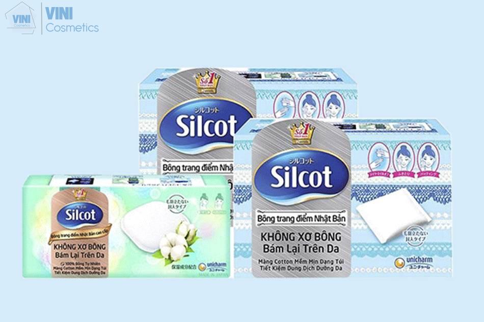 Bông tẩy trang Silcot loại nào tốt?