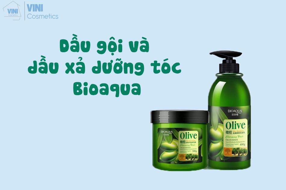 Bộ đôi dầu gội và dầu xả của Bioaqua