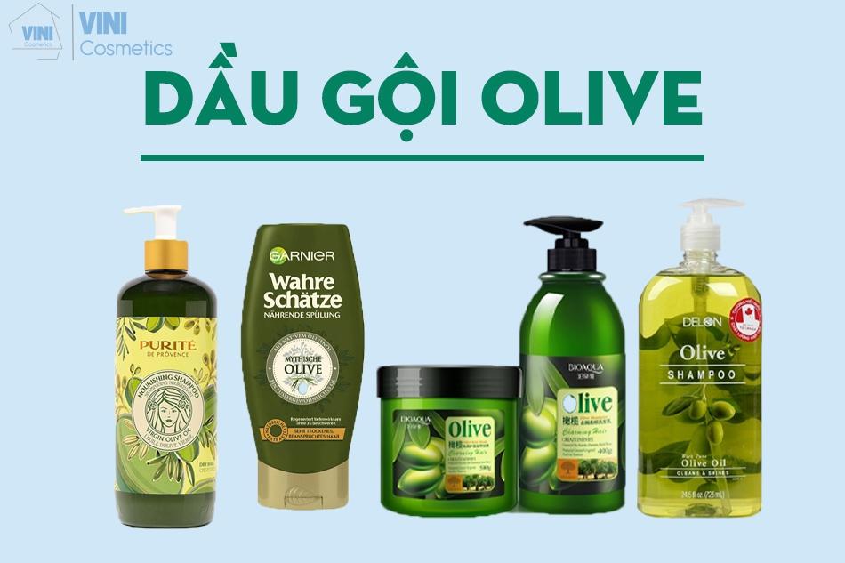 Dầu gội olive có tốt không? Review các loại dầu gội Olive trên thị trường