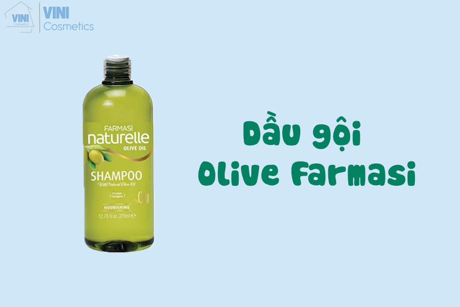 Dầu gội Olive Farmasi