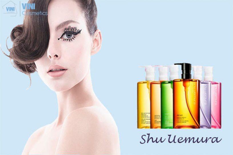 Đôi nét về thương hiệu Shu Uemura