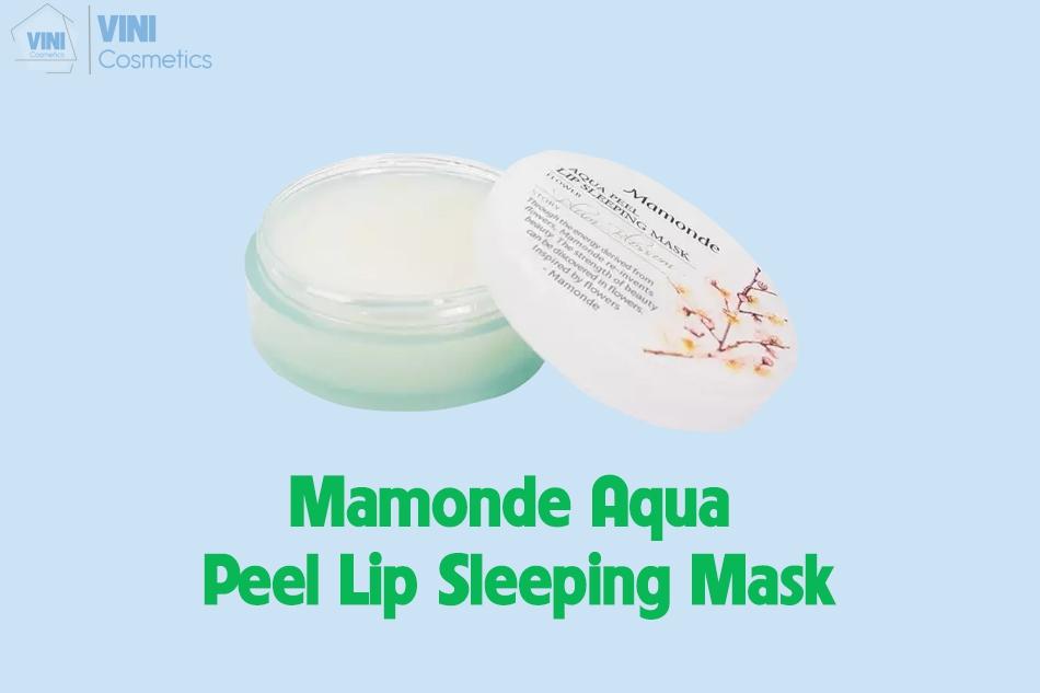 Mamonde Aqua Peel Lip Sleeping Mask