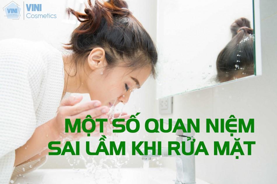 Một số sai lầm khi rửa mặt thường gặp