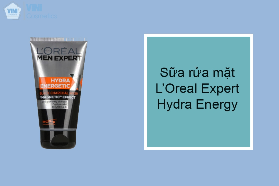 Sữa rửa mặt L'Oreal Expert Hydra Energy