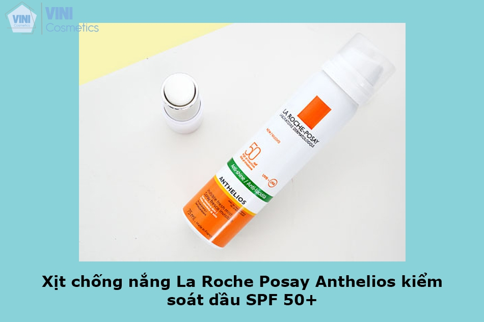 Xịt chống nắng La Roche Posay Anthelios kiểm soát dầu SPF 50+