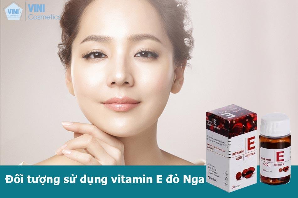 Những đối tượng sử dụng vitamin E đỏ Nga