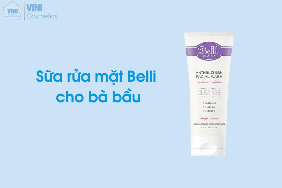 Sữa rửa mặt Belli cho bà bầu