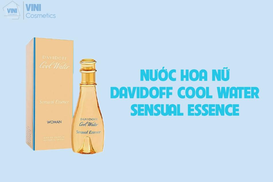 Davidoff cool water sensual essence