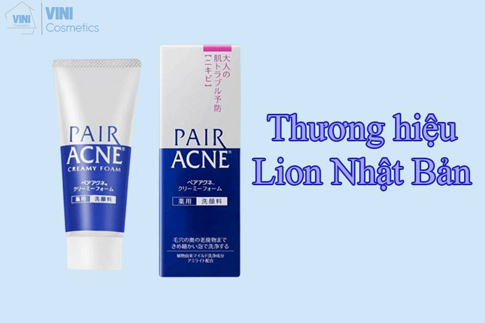 Đôi nét về thương hiệu Lion Nhật Bản