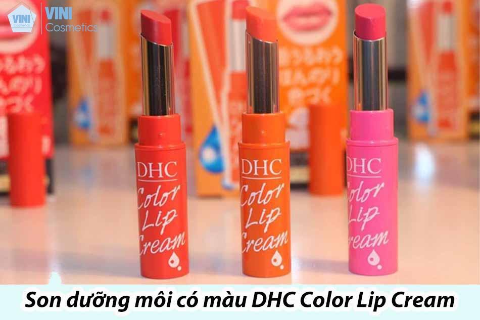 Son dưỡng môi có màu DHC Color Lip Cream