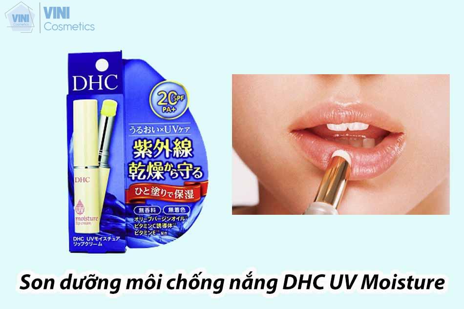 Son dưỡng môi chống nắng DHC UV Moisture