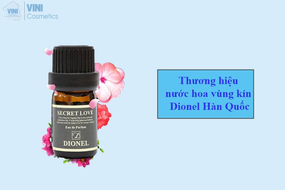 nước hoa vùng kín dionel